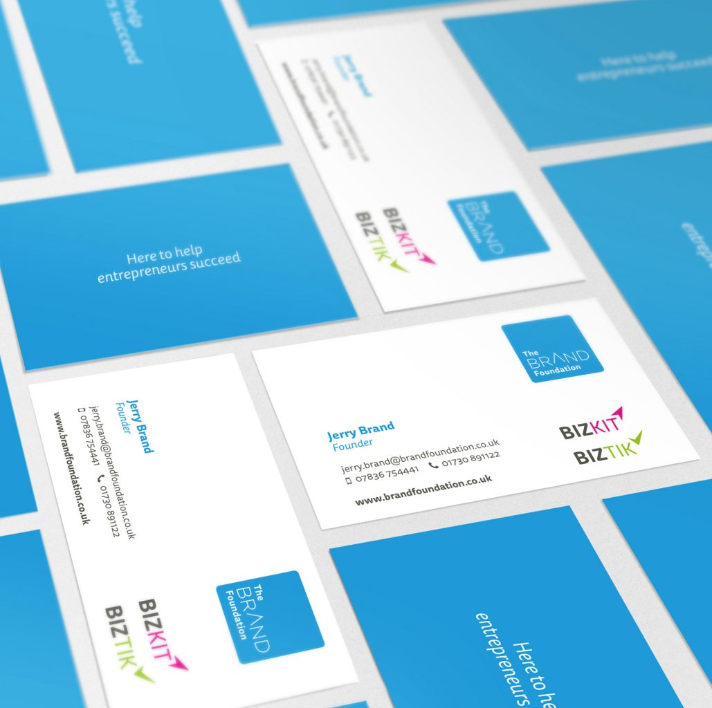 Brand Foundation Business Cards