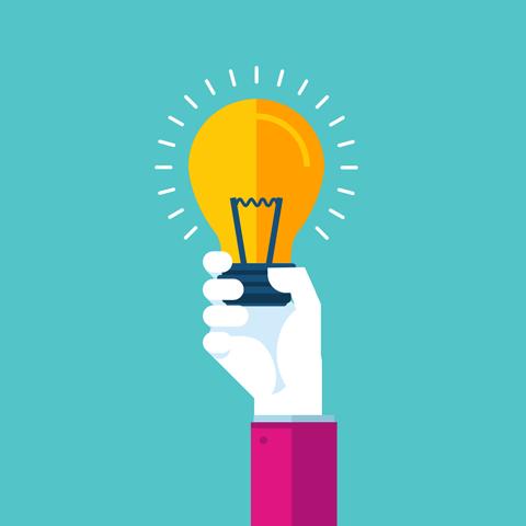 Brand Foundation Lightbulb graphic