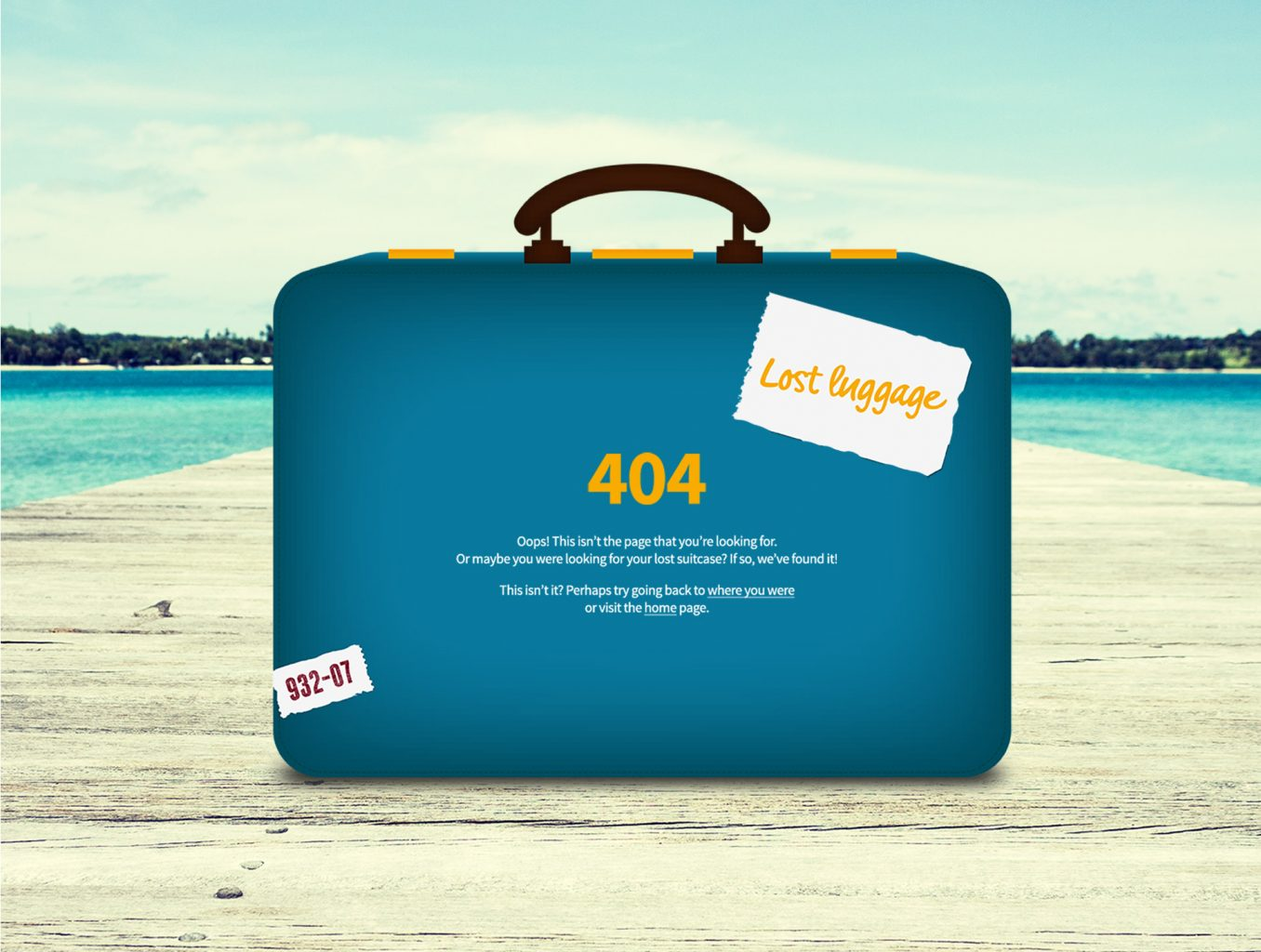 Thomas Cook 404 error