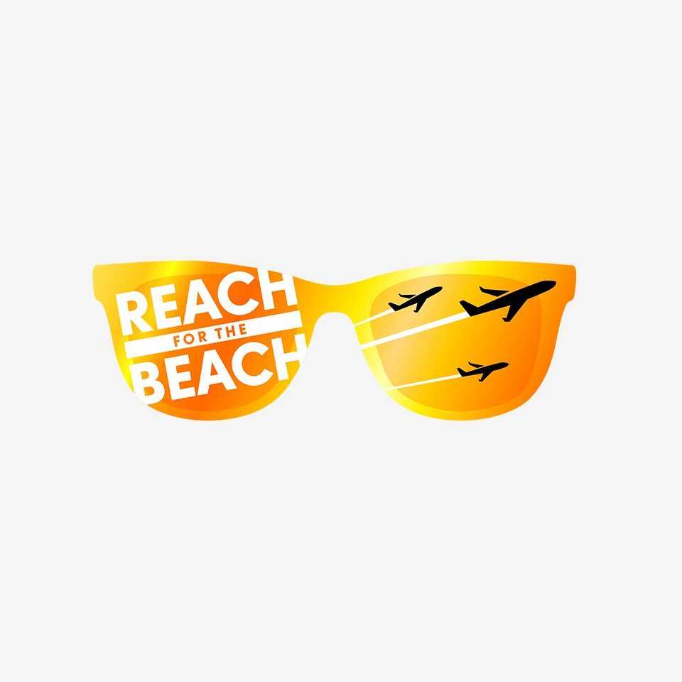 Reach for the Beach logo