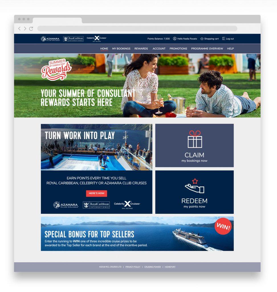 RCI web page
